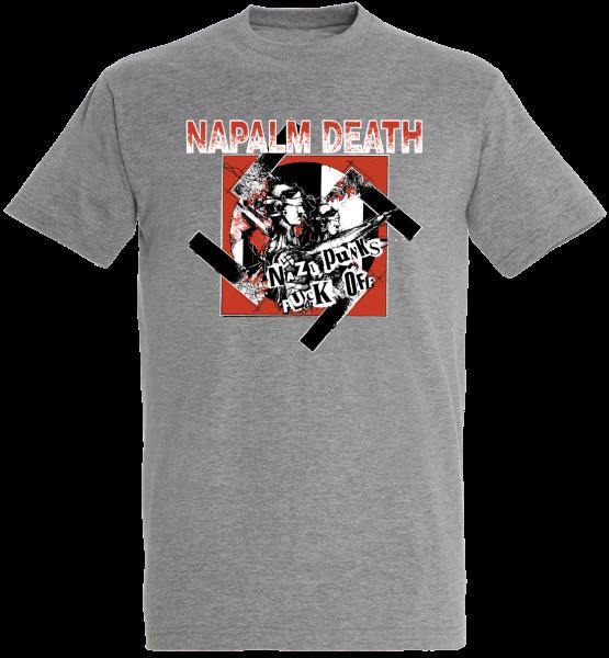 T-Shirt Nazi Punks Fuck Off Sports