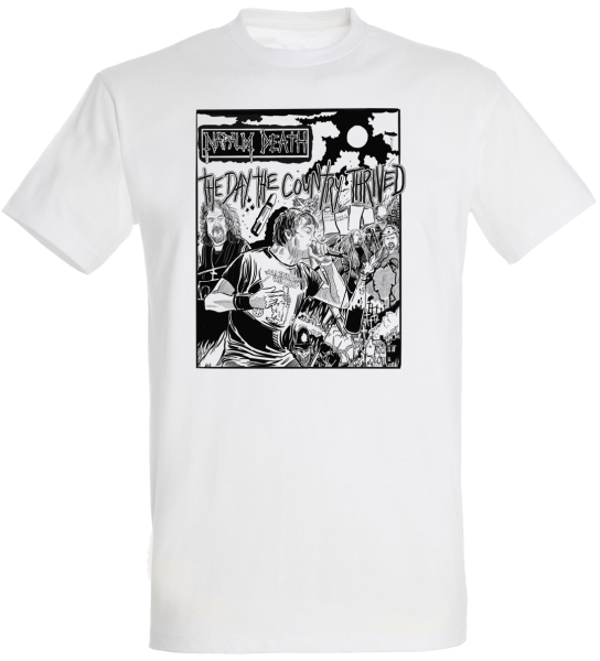 T-Shirt the day the country thrined white