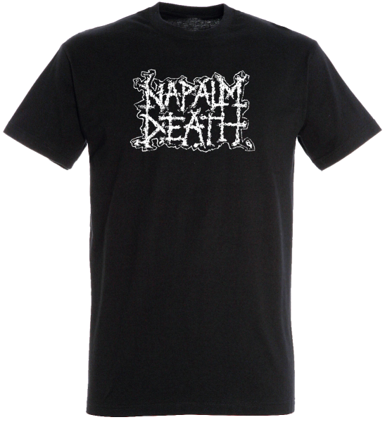 T-Shirt Napalm Death Logo black
