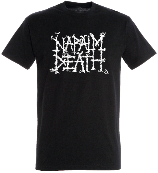 T-Shirt Kids Napalm Death black