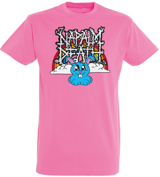 T-Shirt rainbow pink